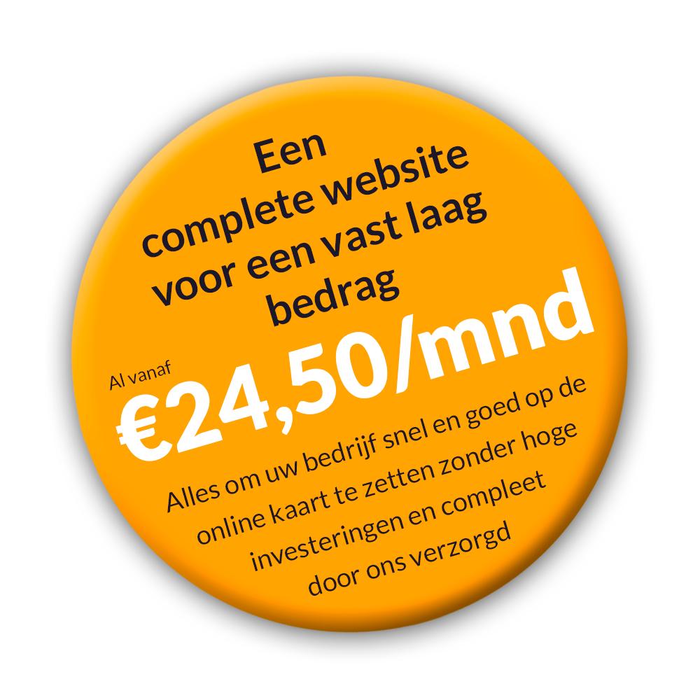 Aanbieding: all inclusive websitepakket.
